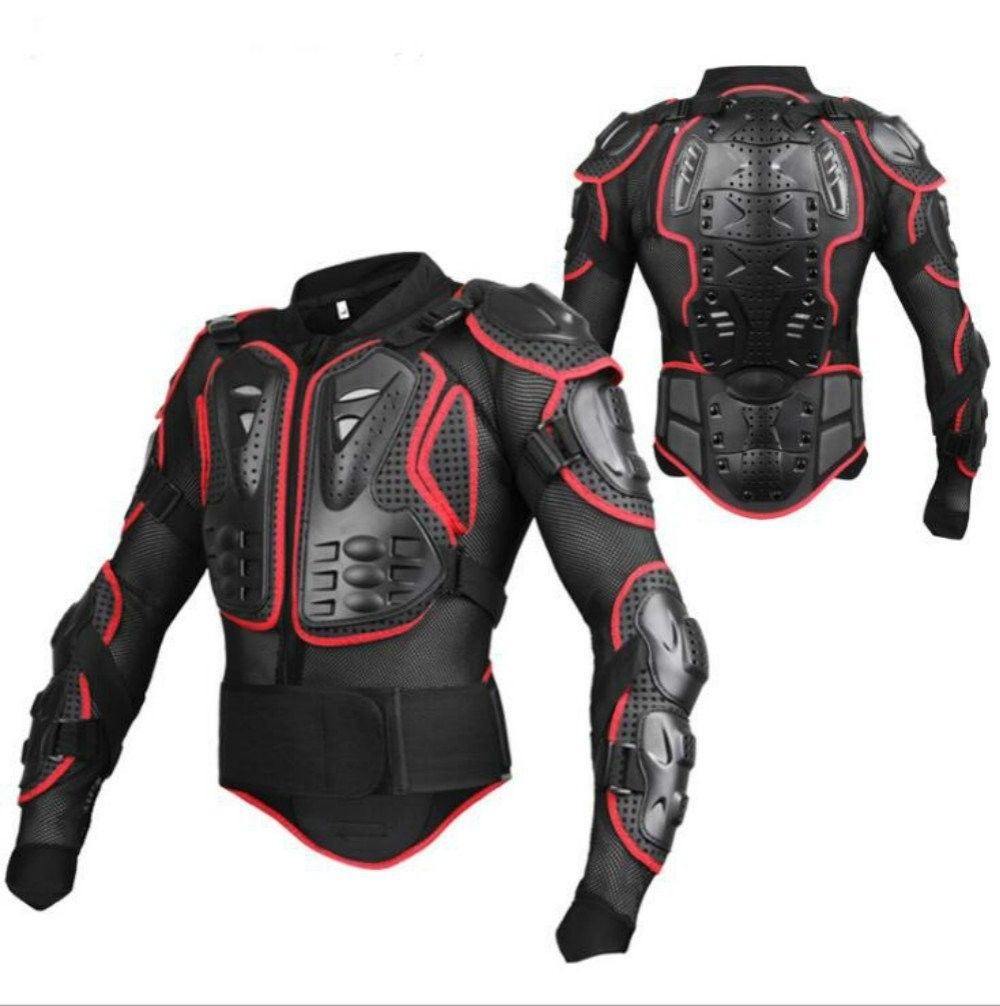 Motorcycle MX Full Body Armor Jacket Protective Pro Street Motocross ATV Guard Shirt Spine Chest Shoulder Protection Riding Gear herobiker armor removable neck protection guards riding skating motorcycle racing protective gear full body armor protectors