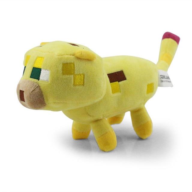 Minecraft Plush ocelot plush Toys enderman Creeper Plush 15cm Doll toy gift