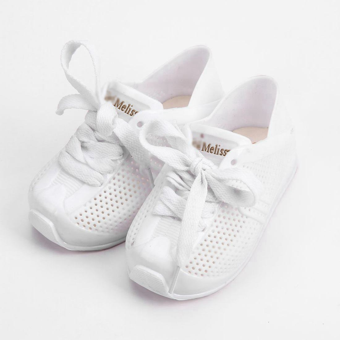 Melissa Scarpe Da Tennis di Sport 2018 Nuovo Inverno Piatto Slip-on Kids Mini Sandali Sneakers Traspirante Scarpe Amore Sistema Ragazza gelatina