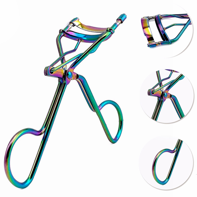 1Pcs Eyelash Curler for Girls Lash Tweezers Curler Nature Curl Style Eyelash Extension Tools Makeup Curling Twisting  Eye Lashes 2