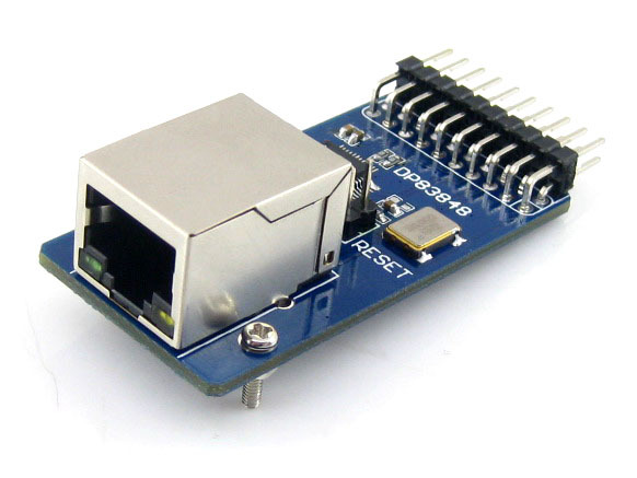 Waveshare DP83848 Ethernet Board Module 10/100 Mb/s Ethernet Physical Layer Transceiver Control Interface Web Server Module рюкзак детский scout scout рюкзак backpack skate красный