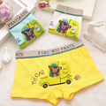 boy underwear boy boxer child's for underpants shorts  pants for boys children's boxer kids panties  A3033-1-4p 4pcs/lot