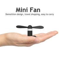Wholesale 50pcs 3 in 1 Portable Cell Phone Cooler Flexible Electric Mini USB Cooling Cooler Fan For iPhone Android mobilephone