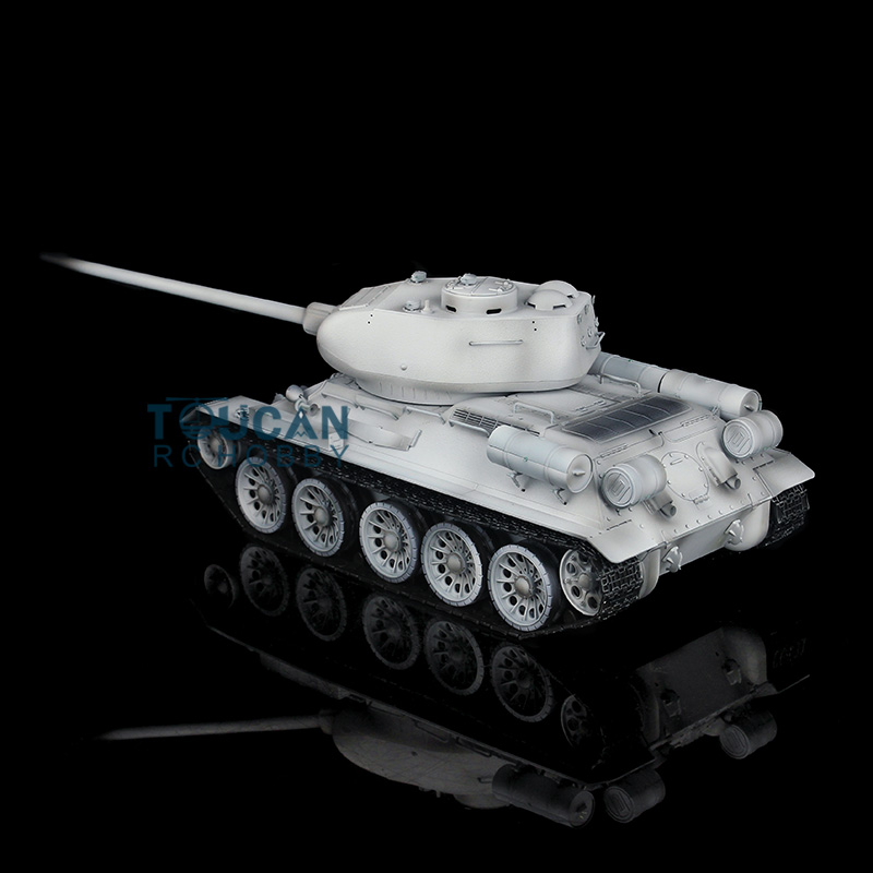 все цены на HengLong 1/16 Scale Winter Snow Soviet T34-85 RTR RC Tank Metal Tracks Wheels 360 Degrees Rotation Turret 3909 онлайн
