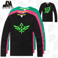 the legend of zelda shirt game t shirt party tshirt glow in the dark