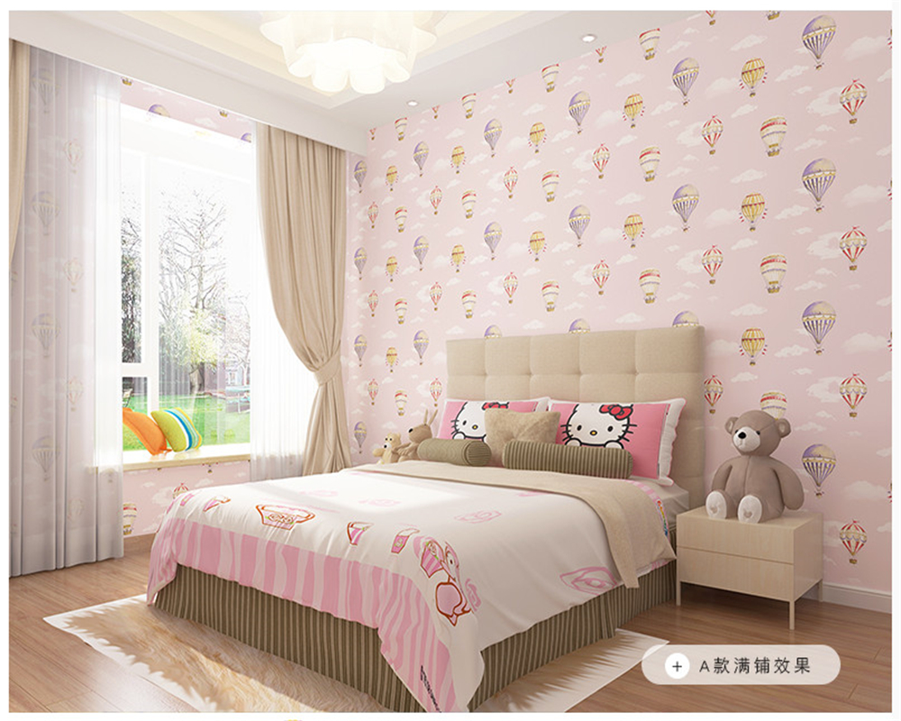 beibehang Children boys and girls warm bedroom study nonwoven papel de parede 3d wallpaper abc match wall paper hot air balloon beibehang three dimensional pastoral floral nonwoven 3d wall paper warm pink children s bedroom girl bedroom european wallpaper