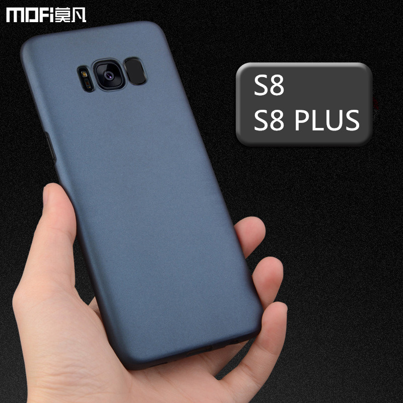 For Samsung S8 case cover for samsung galaxy S8 plus case hard PC back cover for s8 + capa coque funda accessories black blue
