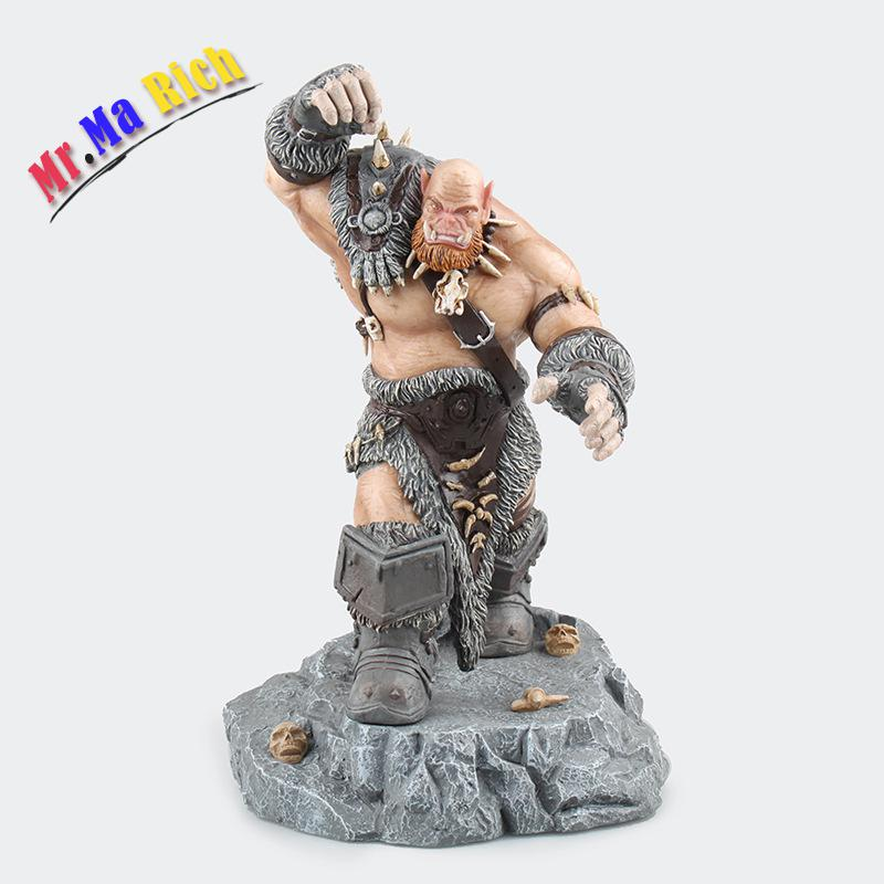 Online Game Wow Ogrim Doomhammer Pvc Action Figure 30 Cm High Chinese Version Without Original