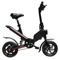 Falten Elektro-bike 36V 6 6 Ah 7 8 Ah Lithium-Batterie 350W Erwachsenen Elektro Roller
