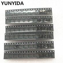 60 יחידות = 6 סוגים * 10 יחידות 24C02 24C04 24C08 24C16 24C32 24C64 sop קיט כל 10 יחידות (12 21)