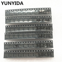 60pcs = 6 kinds * 10 pcs 24C02 24C04 24C08 24C16 24C32 24C64 sop  kit  Each 10pcs   (12 21)