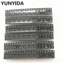 60pcs = 6 kinds * 10 pcs 24C02 24C04 24C08 24C16 24C32 24C64 sop  kit  Each 10pcs   (12 21)