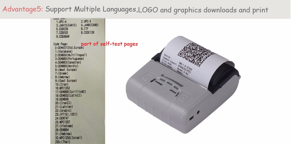 Mobile thermal Printer (6)