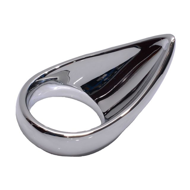 1 PC Metal Male Chastity Penis Ring Teardrop Cockring Sex Toys for Men Juguetes Sexuales Adult Sex Toys for Men Cock Ring