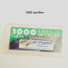 0.20X31 Mm JET France Loose Tattoo Needle High Grade Professional Tattoo Needles 1000PCS/Pack