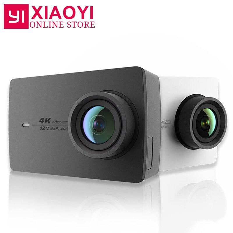 Xiaomi YI 4 k D'action Caméra Xiaoyi Wifi Sport Caméra Ambarella A9SE 2.19 155 Degrés 12MP EIS PMA [édition internationale]