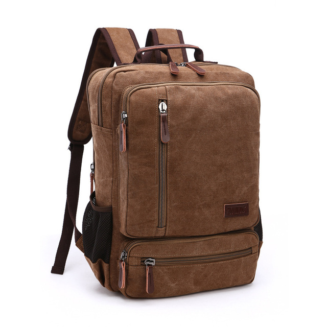 9a1bb09f9f DB76 New Arrive Original Z.L.D Canvas Leather Men Travel Bags Men Duffel  Bags Travel Tote Weekend Bag Overnight Laptop Backpacks
