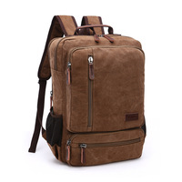 DB76 New Arrive Original Z.L.D Canvas Leather Men Travel Bags Men Duffel Bags Travel Tote Weekend Bag Overnight Laptop Backpacks