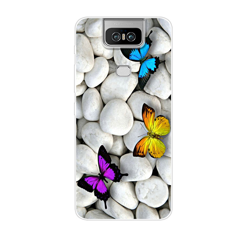 Case For Asus Zenfone 6 2019 ZS630KL Cover Soft TPU Silicone Case For Asus Zenfone 6 ZS630KL Back Cover For Asus Zenfone6 6Z