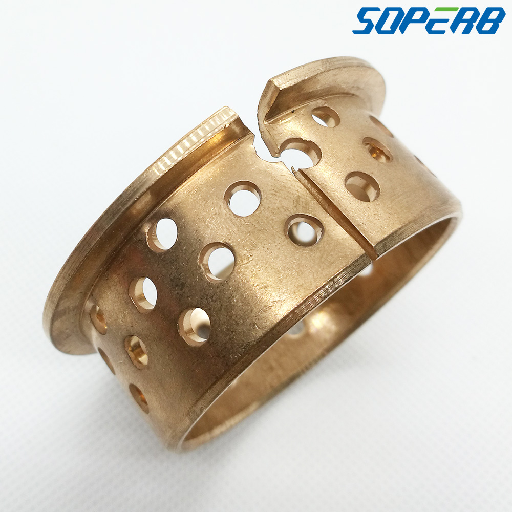 Self lubricating Harden 5025F 50x55x65x25mm WF-WB802 WB702 FB092 slide bearing bronze wrapped bushing sliding bush