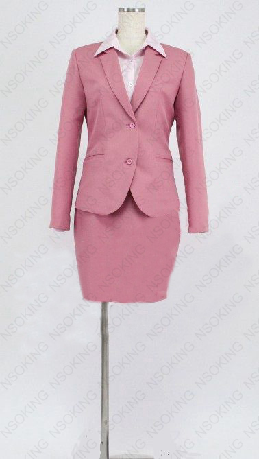 Wotakoi Love is Hard for Otaku Narumi Momose Cosplay Office Lady Uniform Costume