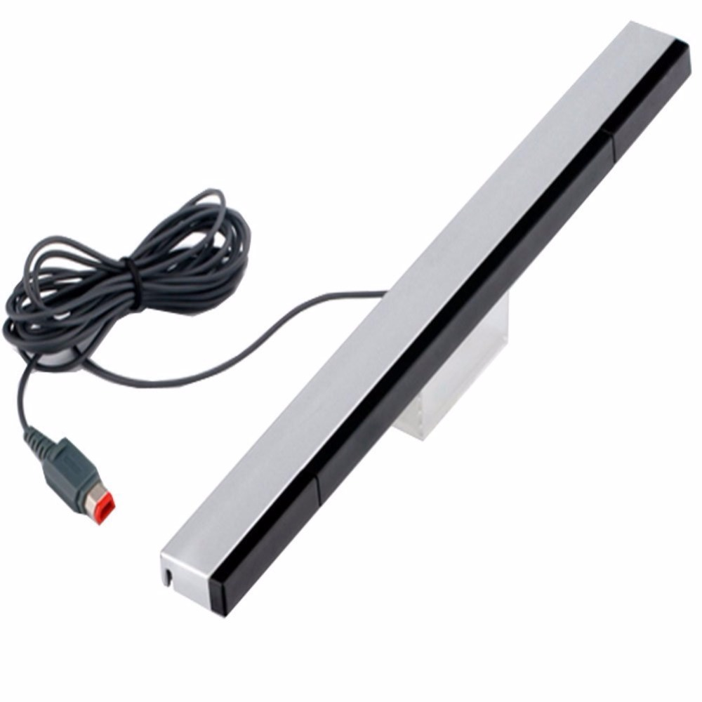EastVita Game accessories Wholesae Wired Infrared IR Signal Ray Sensor Bar/Receiver for Nintend for Wii Remote Game Consol 30(China)
