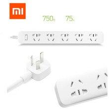Originele Xiao mi mi smart power Strip Met 5 stopcontacten plug Met Socket au Standaard SOCKET Pu Voor SMART thuis gratis verzending