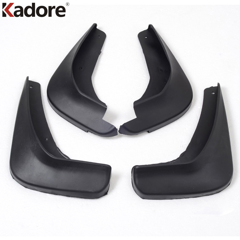 Car Accessories For Ford Mondeo Sedan 2008 2009 2010 2011 Plastic Mud Flaps Fender Splash Guards Mudguards Dirt Boards Protector