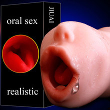 soft oral sex 3D Deep Throat realistic vagina real pocket pussy Male Masturbators cup masturbator for man adult sex toys for man rends meiki electric hip strong vibration realistic vagina usb charge 6 speed real pussy adult sex toys masturbator for man