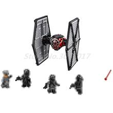 Lepin 05005 Star Wars Force Awakens Tie Fighter Model Set Building Blocks Bricks DIY Educational Children Toys Gift 75101