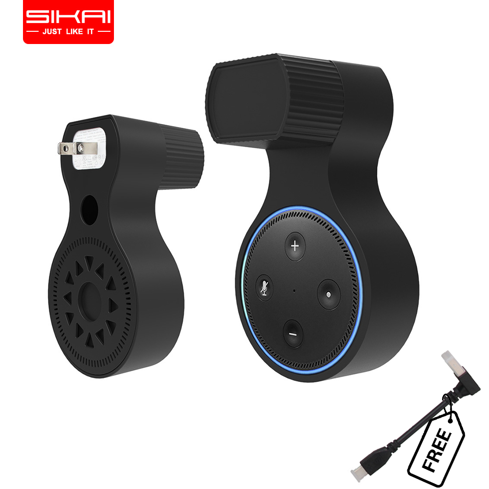 Best buy ) }}SIKAI Wall Hanger Stand for Amazon Echo Dot 2nd Generation and Other