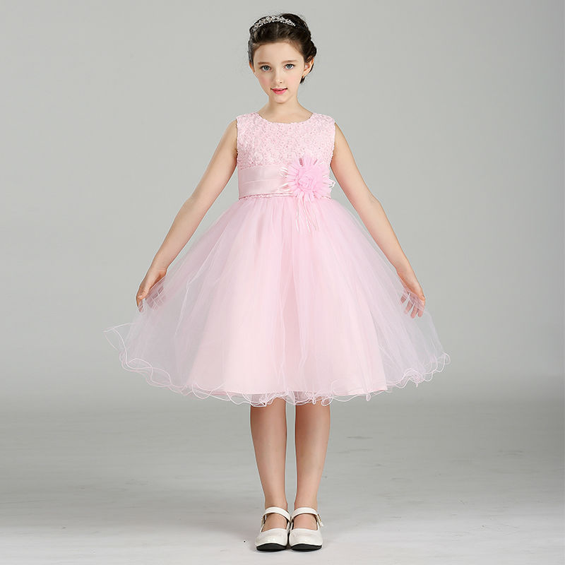 ⓪Wholesale New Style Girls Flower Dresses Children Ball Gown For ...