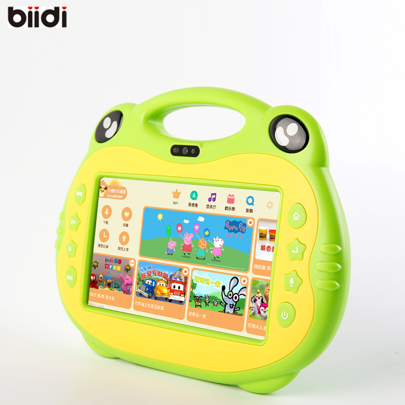 kids Christmas gift Education 7inch Android Tablets PC WiFi support russian language 1GB 8GB KIDS tab