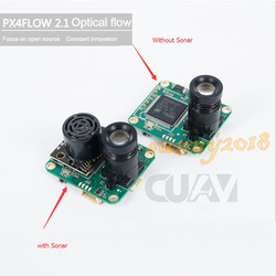 CUAV PX4FLOW 2.1 Optical Flow Sensor Smart Camera for PX4 PIXHAWK Flight Control without Sonar or with sonar