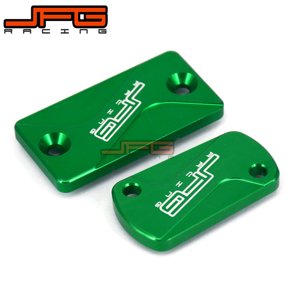 CNC Front Brake Cylinder Reservoir Cap Fit For KX125 KX250 2003 2004 2005 2006 2007 2008 KX250F KXF 250 04-16 KX450F 450 06-16 mfs motor motorcycle part front rear brake discs rotor for yamaha yzf r6 2003 2004 2005 yzfr6 03 04 05 gold