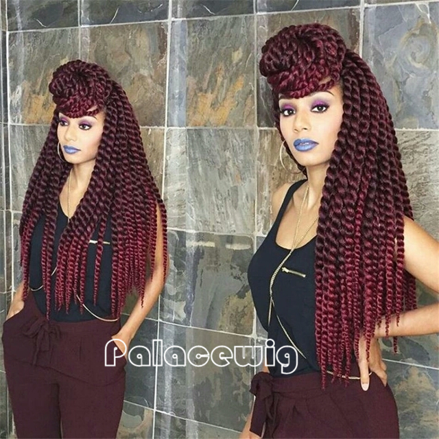 Kinky Twist Braids-Buy Cheap Kinky Twist Braids lots from China Kinky ...
