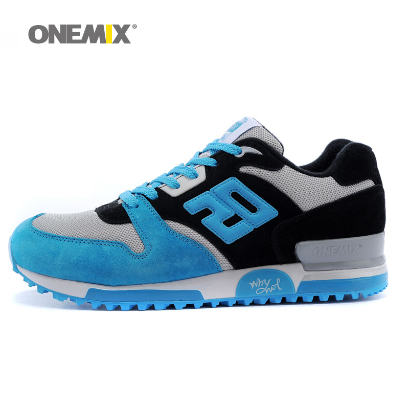 $28.80 New Men Winter Running Shoes For Women Run Sports Shoe Agan Retro Classic Athletic Trainers Baby Blue Outdoor Walking Sneakers 8