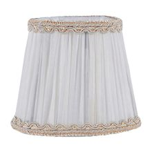 Chiffon lampshade candle crystal chandelier lamp Clip type holder Head Light Lamp cover