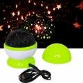Magia LED Estrella Estrellada Proyector Novedad Luz de La Noche de Mesa Giratoria lámparas Para El Regalo de Los Niños Del Bebé Niños Habitación de Noche Decora UE enchufe