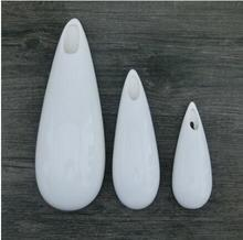 Wall hang vase big and small droplet ceramic sitting room background adornment European originality contracted