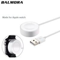 BALMORA מגנטי כבל טעינה עבור מטען Usb עבור Apple שעון IWatch 38 מ