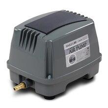 60 W 80L/dak Hiblow akvaryum balık tankı Septik oksijen hava pompası Aqua Hava Üfleyici Hidroponik Gölet/Deniz Ürünleri havuzu hava kompresörü