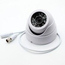 Камера видеонаблюдения HD, 1080p, 4 в 1, AHD, TVI, CVI, CVBS, 1920*1080, 2 МП, купольная камера для помещения, UTC, D/N