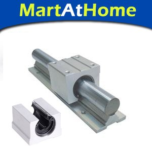 купить 2pcs SBR12 1000mm Linear Bearing Rails + 4pcs SBR12UU Linear Motion Bearing Blocks #SM184 по цене 6113.66 рублей