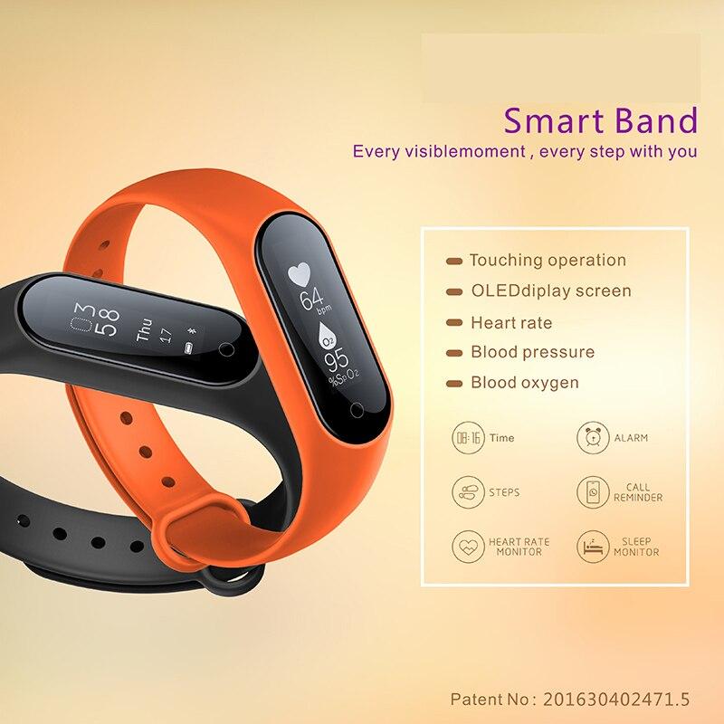 Best New Year Gift Bracelet For Friends Smart Wristband