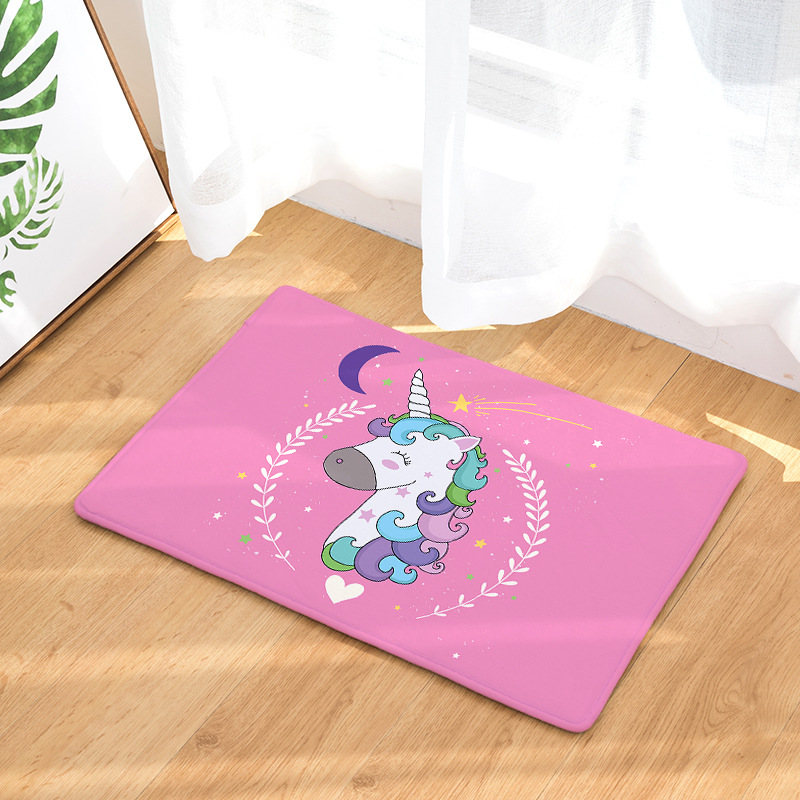 Rainbow Unicorn Doormat