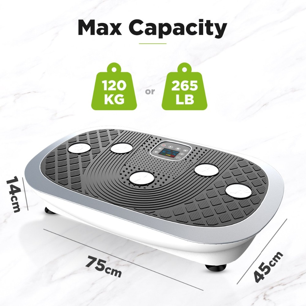JUFIT 3D Oscillating and Vibrating Platform Professional Vibro Shaper Power Plate 2 Motors 3 Vibration Modes Wrist Remote in Outdoor Fitness Equipment from Sports Entertainment
