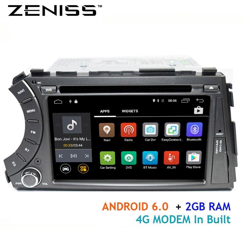 imágenes para Freeshipping Android Quadcore 2DIN dvd del coche para Ssangyong Actyon Kyron con wifi 4G módem gps del coche 2 din ssangyong kyron actyon