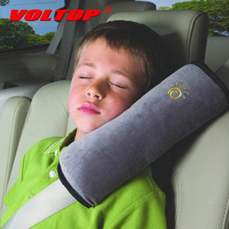Car Seat Belt Pillow Auto Safety Shoulder Pad Children Protection Neck Cover Cushion Support Baby Kids Sleep Soft Adjust Strap