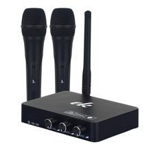 אלחוטי קריוקי מיקרופון מיקרופון mikrofon קריוקי נגן KTV קריוקי הד דיגיטלי מערכת קול אודיו מיקסר שירה מכונת